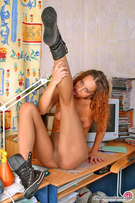 With exclusive pantyhose content go information comes